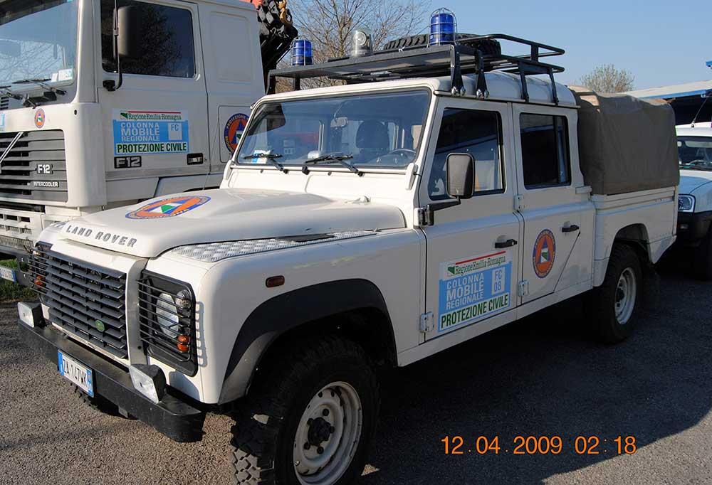 Land Rover Defender 130 ZA147WK