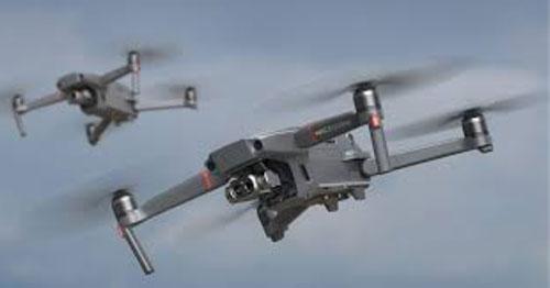 I droni in volo